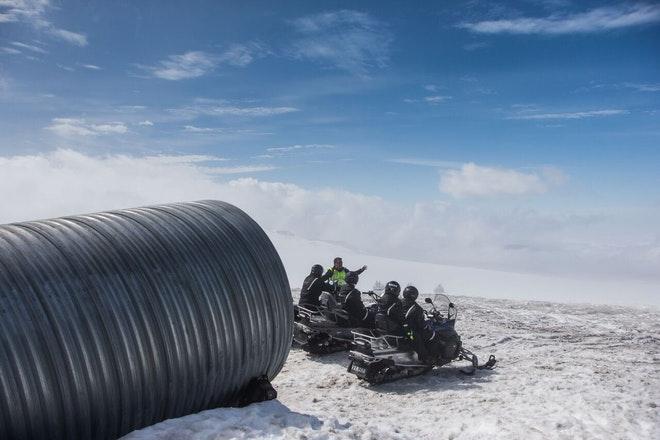 Into & Above The Glacier